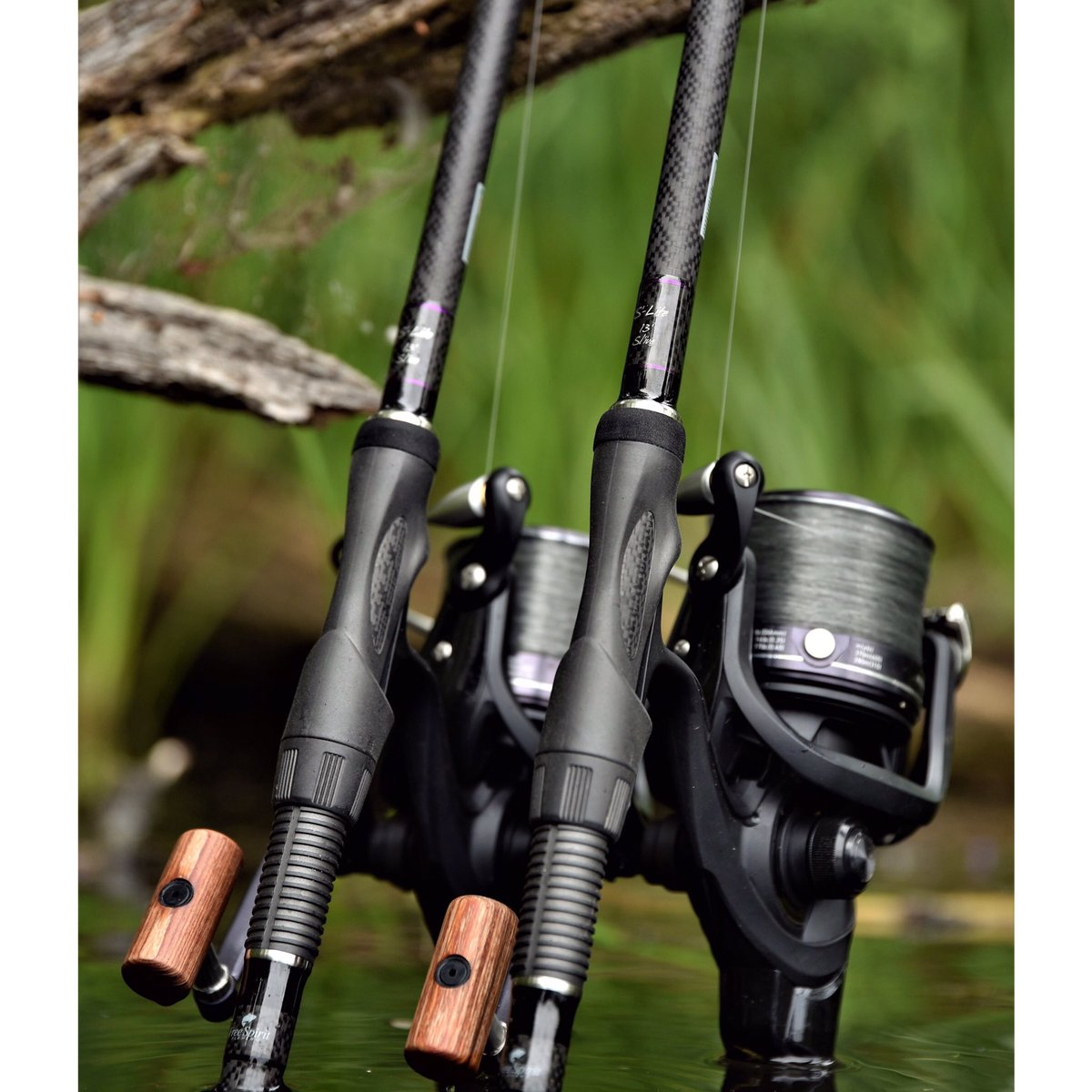 Power, precision, <b>Passion</b>... #freespiritXS #southcoastrods #carprods #carpfishing  #carp http