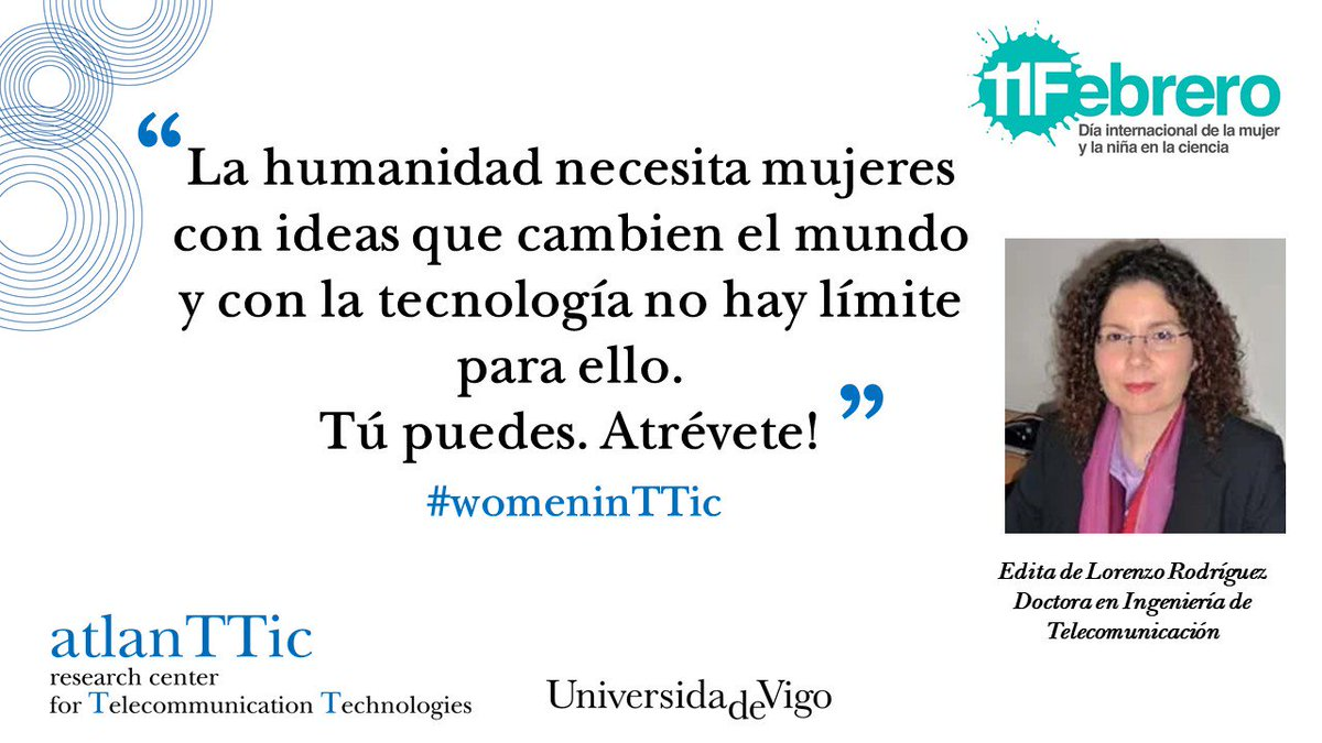 test Twitter Media - porque todos los días deberían ser @11defebreroES  #DiaDeLaMujerYLaNiñaEnLaCiencia #mujeryciencia #11febrero  #MujeresEnCiencia #WomenInScience #WomenInSTEM #womenintech #womenintic #STEM https://t.co/xU8iY1KLST