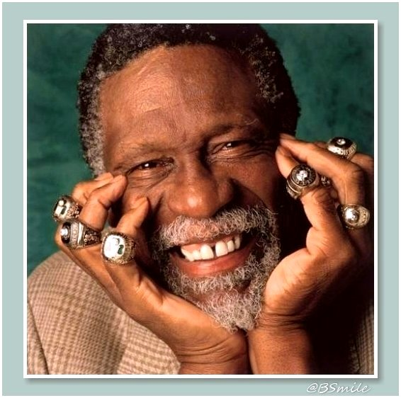Happy 85th Birthday to Boston basketball legend Bill Russell!