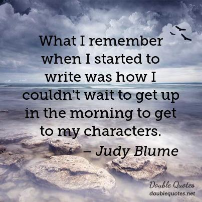 Happy birthday to American writer Judy Blume!