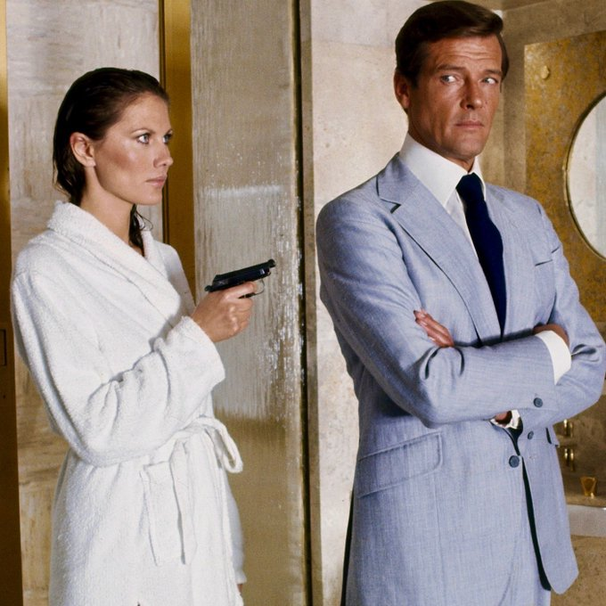 """Happy birthday, Maud Adams the only two-time \""""Bond Girl.\"""""""