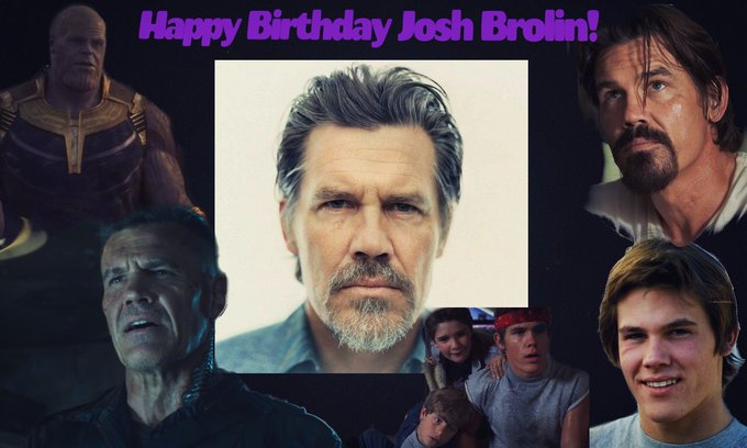 Wishing Josh Brolin a happy 51st Birthday!