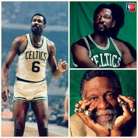 "Happy 85th birthday to the ""Lord of the Rings\"" , Bill Russell"