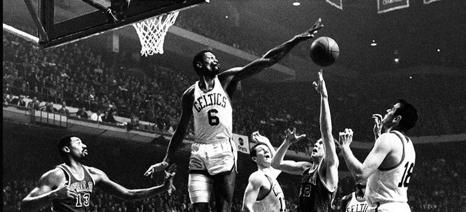 Happy Birthday Bill Russell, you were my childhood hero and favorite player for years and years. Thank you!