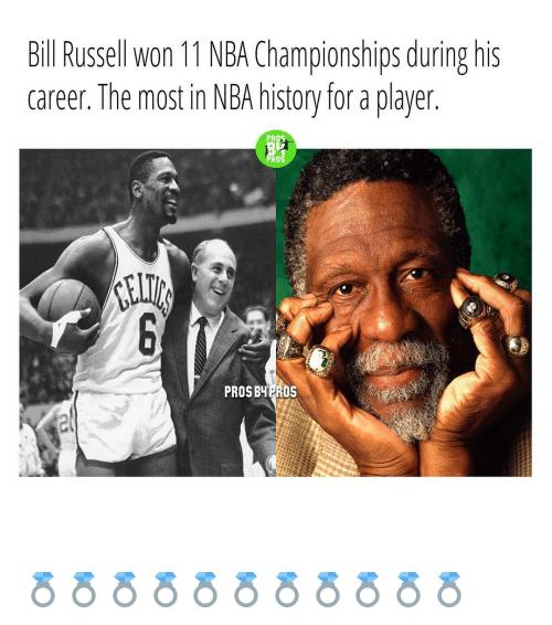 Yup that is true. Also happy birthday to the great Bill Russell!