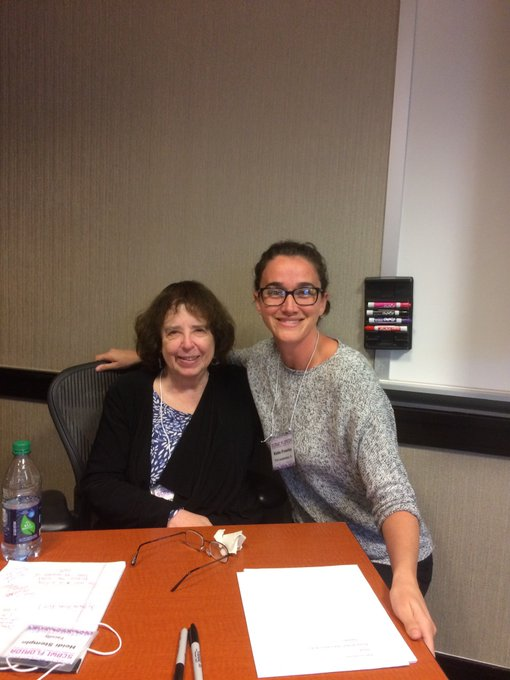 Oh, look! An occasion to share my picture of me and Jane Yolen. Happy Birthday, Jane!!!