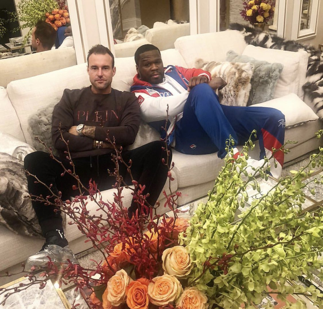 I stopped by to see my Boy @philipp_plein crib today. His new line is wavy #bransoncognac #lecheminduroi https://t.co/lDK7LV3ger