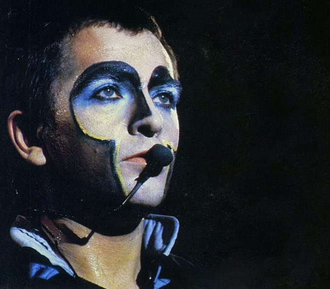 "Happy Birthday Peter Gabriel.  ""It\s one o\clock and time for lunch\"".."