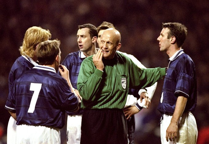 Happy 59th birthday to the man considered the greatest referee of all time, Pierluigi Collina...