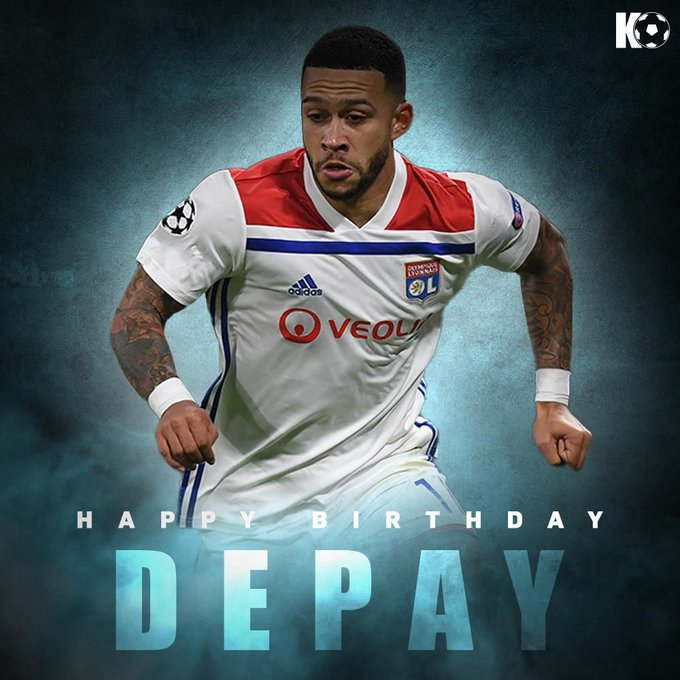 A special day for the footballing freestyler! Join in wishing Memphis Depay a Happy Birthday