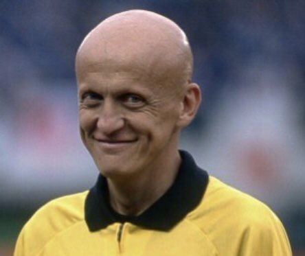 Happy Birthday to the legend that is Pierluigi Collina. What a fella!