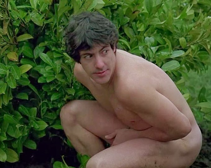 Happy birthday to adorable David Naughton, seen here in his birthday suit!