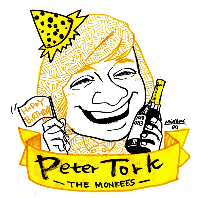 - Day 1315  Happy Birthday Peter Tork