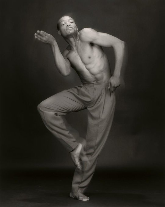 Happy Birthday to choreographer Bill T. Jones! Photo credit: Robert Mapplethorpe