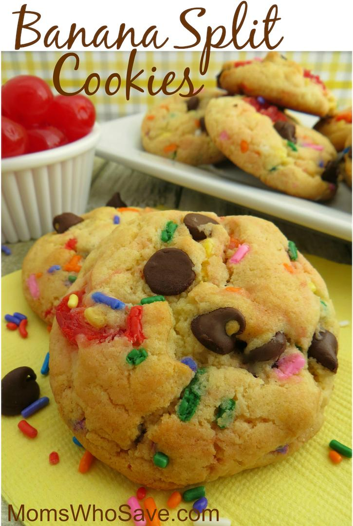 RT @MomsWhoSave: Try This Banana Split Cookies Recipe (One of my favorites!)  >>   #recipes