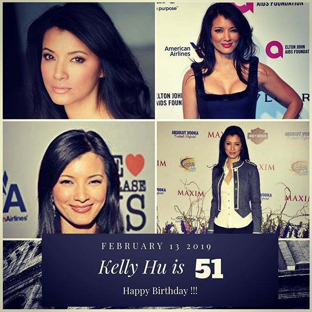 Actress Kelly Hu is 51 today !!!    to wish her a happy Birthday !!!