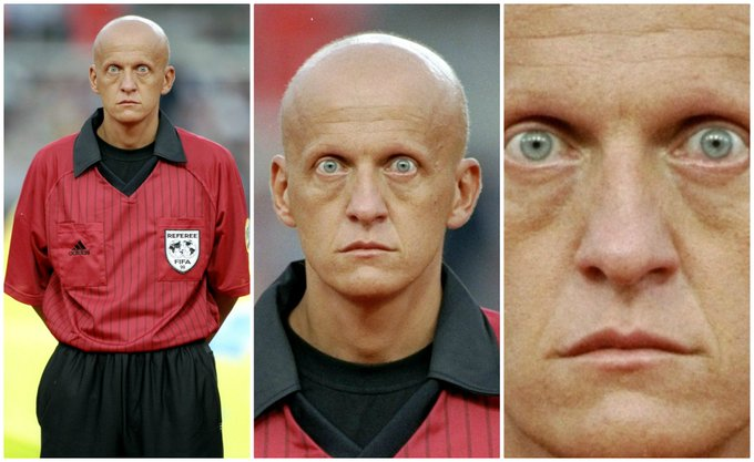 A refereeing icon Happy birthday to Pierluigi Collina!