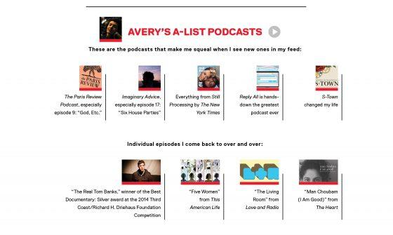 test Twitter Media - Which podcasts are at the top of @99piorg producer Avery Trufelman's ('13) list? Find out in the latest Wesleyan Magazine: https://t.co/Jf0vZHZJDG https://t.co/In6UnGWmJL
