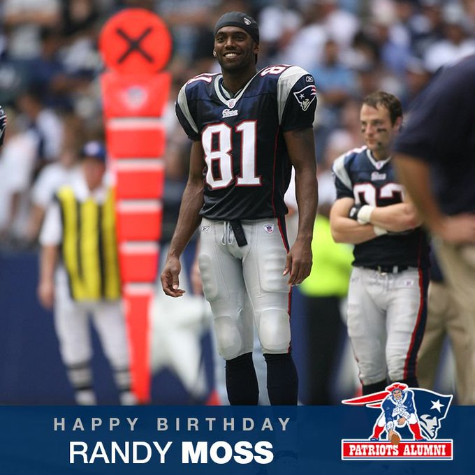 Happy birthday to one of the best to ever do it, Randy Moss!