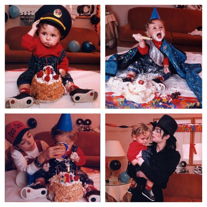 Happy 22nd birthday to Michael Jackson\s son Prince Michael Jackson Jr., born today in 1997.