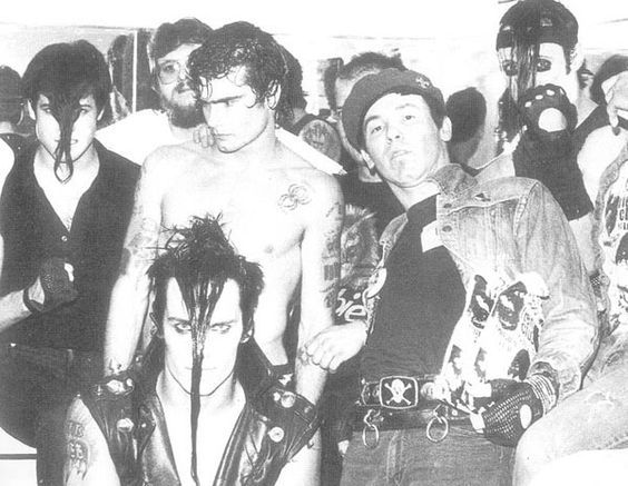 Happy birthday today to Henry Rollins,  pictured with The Misfits in Santa Monica, California, 1983.