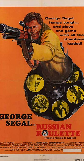 "Happy 85th birthday George Segal. Loved him in this 1975 movie ""Russian Roulette\"" where he played an RCMP agent !"