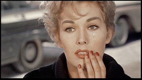 Happy Birthday to Kim Novak, having a human moment in Bell, Book and Candle (which I watched just last night!)