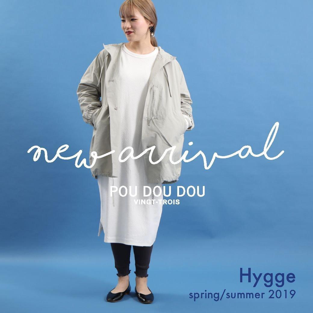 【NEW ARRIVAL】spring 2019  Hygge @poudoudouBLOG   https://t.co/QsfFPPLcxC https://t.co/dlFRqzd65u