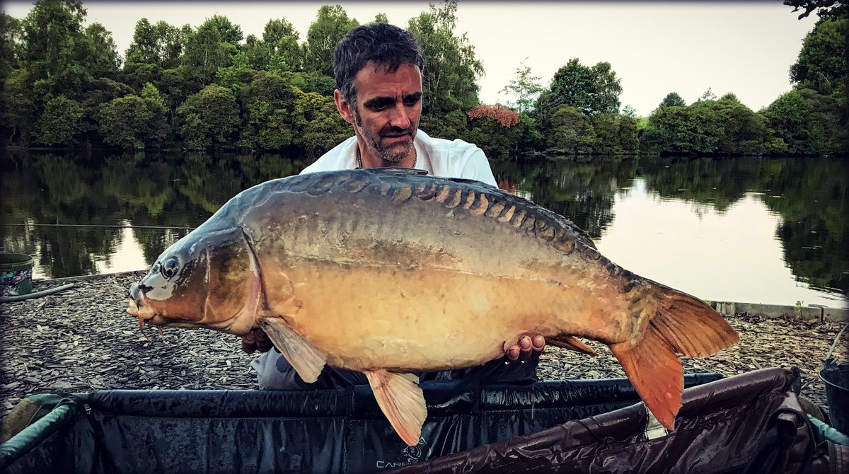 #Tbt to last summer, and a 39lb something mirror 😄🎣 #CarpFishing #<b>Carp</b>life #etangcache