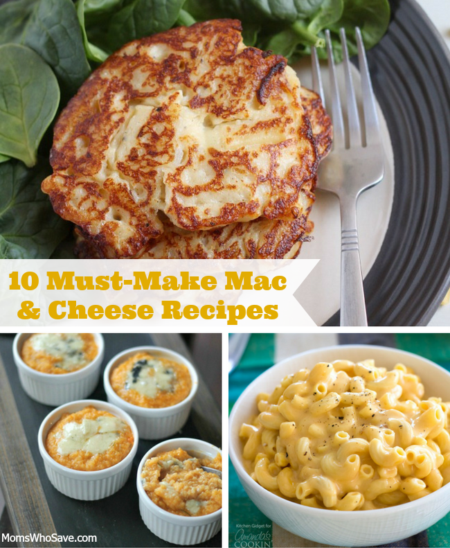 RT @MomsWhoSave: Mac and Cheese Lovers, Here are 10 #Recipes You Need to Check Out  👉