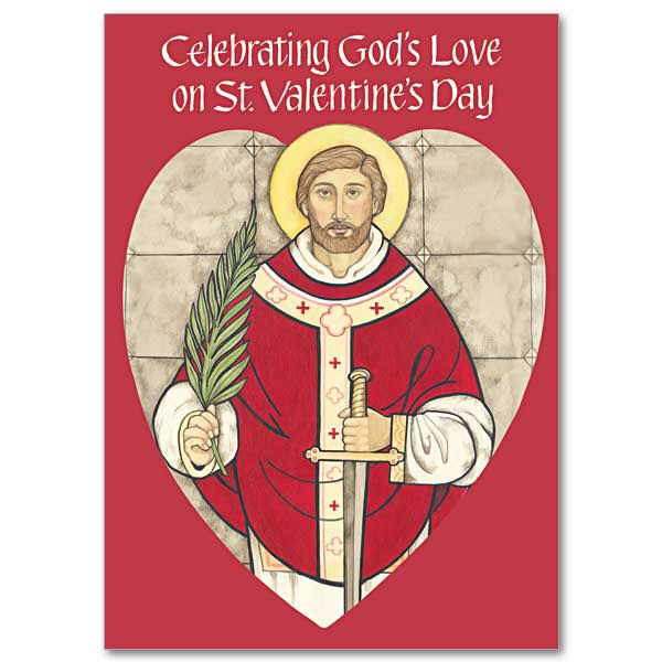 test Twitter Media - Happy St Valentine's Day, especially to all our engaged couples! Here's a good reason to ask his prayers: https://t.co/iSkUmQQCc7 https://t.co/TRPwBqK5NQ