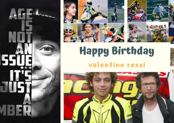Happy Birthday  Valentino Rossi   wish you all the best my hero