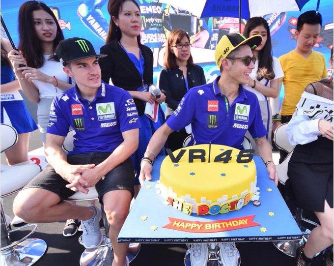Happy birthday Valentino Rossi 40 years