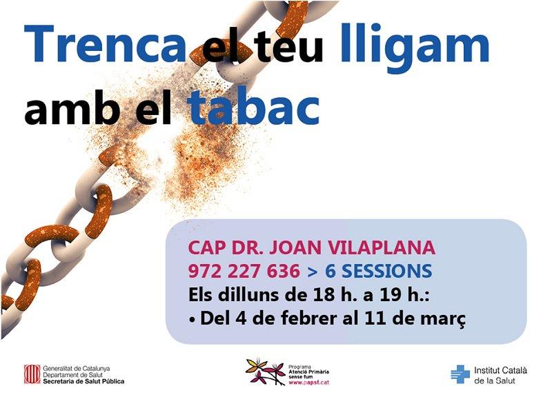test Twitter Media - Anima't a trencar el teu lligam amb el tabac! Programa de deshabituació tabàquica grupal a Girona. Informació i inscripcions als Centres d'Atenció Primària de Girona  tabacap.girona.ics@gencat.cat @icscat @salutcat https://t.co/JvwBphkpvU