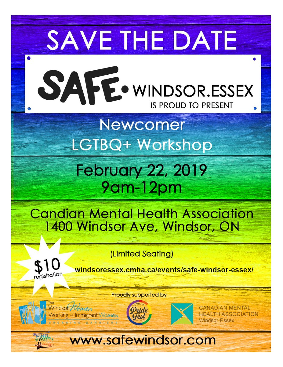 test Twitter Media - RT @WindsorEssexLIP: LGTBQ+ Newcomer Workshop: https://t.co/m8QTdhiPDk @CMHAWECB @wwwwiw_org @WEPridefest https://t.co/gsxBSWiVUf