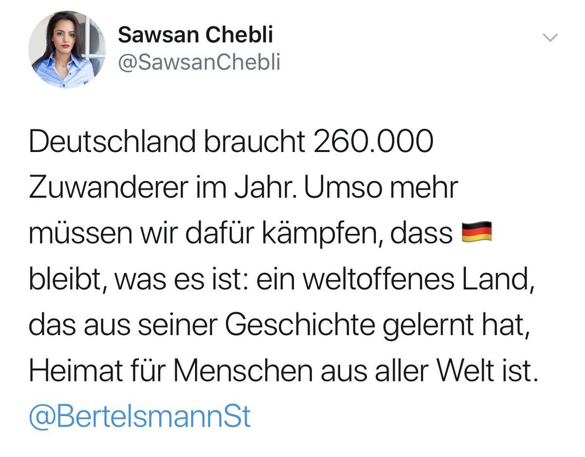 RT @wolfssanguis: Aha, »Deutschland braucht 260.000 Zuwanderer im Jahr«. https://t.co/jJN19TOyZH