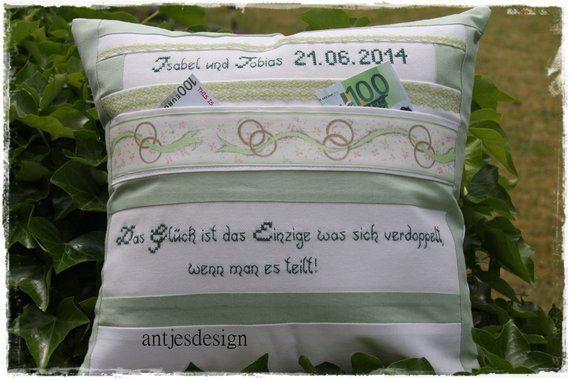 test Twitter Media - Handmade Art: Hochzeit Geschenk, Glück ist das Einzige was sich verdoppelt, Kissen mit Namen, Geldgeschenk personalisiert, Kissen Hochzeit weiß grün https://t.co/yObxSUD4Ho https://t.co/9c5LzyGnMe