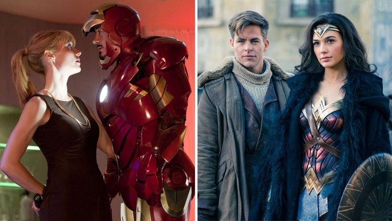 The art of romance in superhero movies