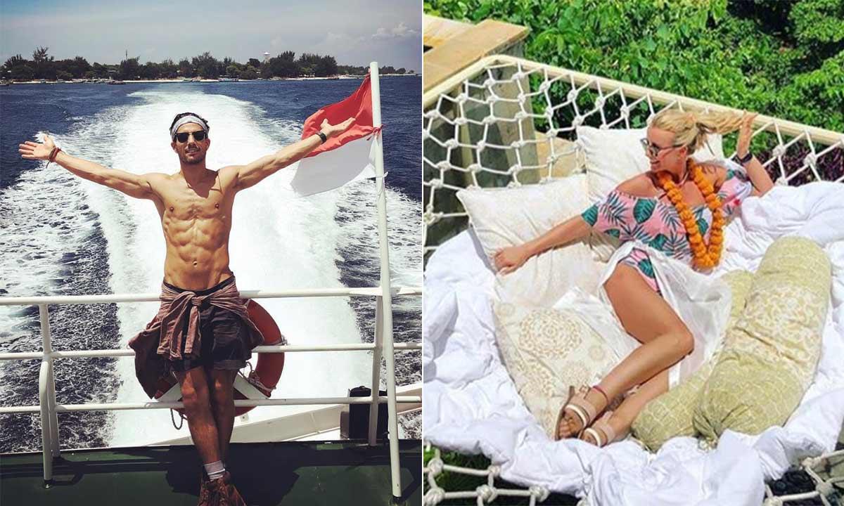 Inside Hollyoaks couple Danny Mac and Carley Stenson's romantic Bali honeymoon:
