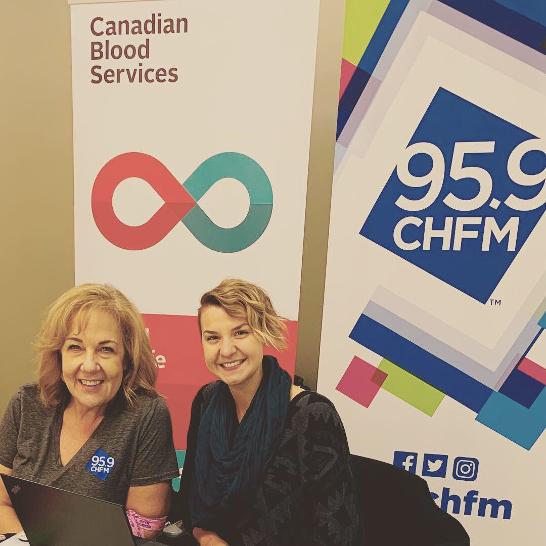 test Twitter Media - All day today @959chfm is at the Eau Claire @LifelineCalgary for Valentine's Day. ❤️ Loved hanging out with  @SashaSpencer09 & Natasha.  #bloodsisters And you too, @ShamusNeeson you wonderful man! https://t.co/MiJCWxrkrf