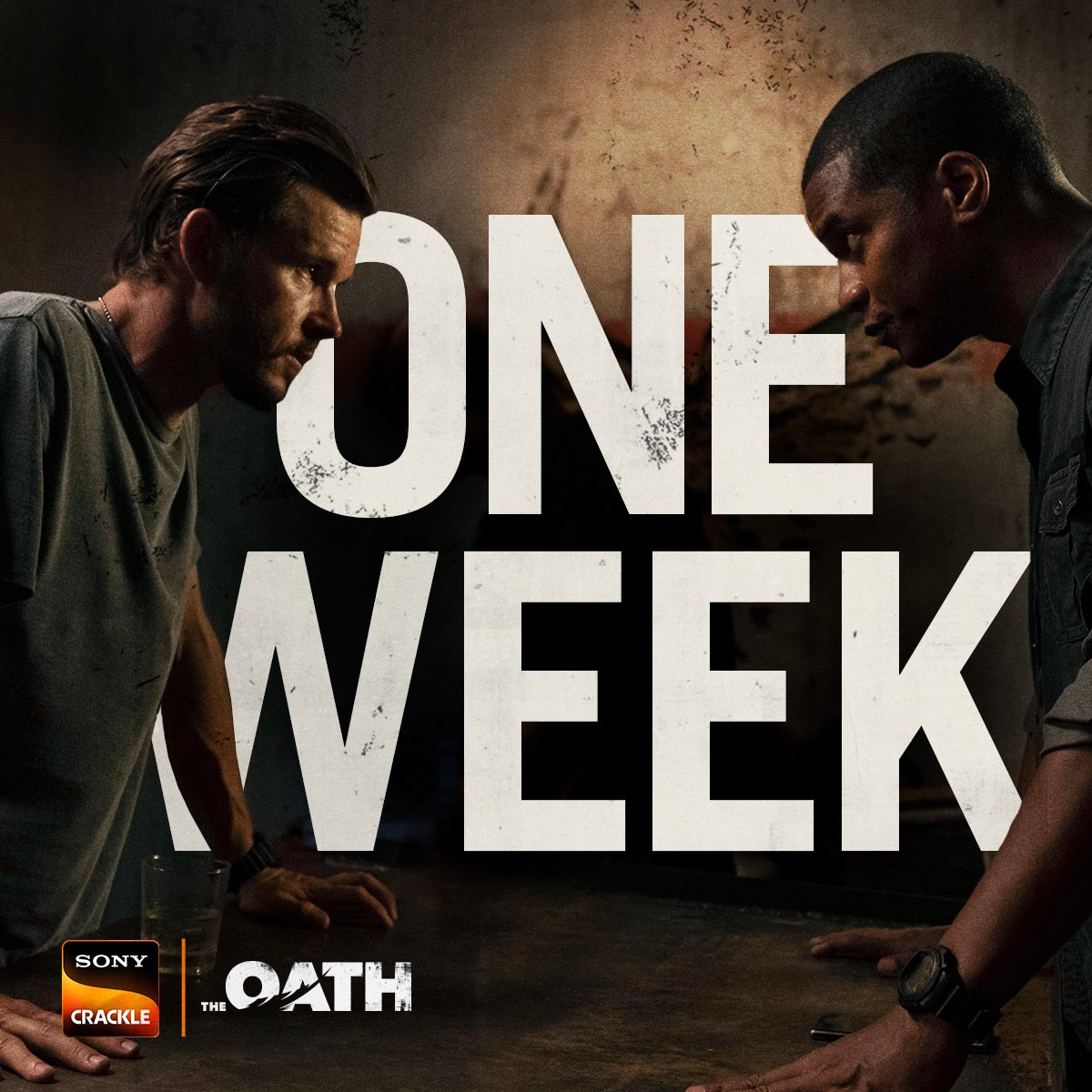 Only one week until @TheOathCrackle Season 2 premieres! ???? Catch it February 21 on @sonycrackle. Can't wait! https://t.co/53tO6CzT3L