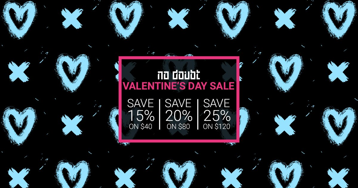 From now until Monday, February 18 enjoy up to 25% OFF in the ND Official Store! https://t.co/lAyy9U94J7 https://t.co/RjVLpEav3r