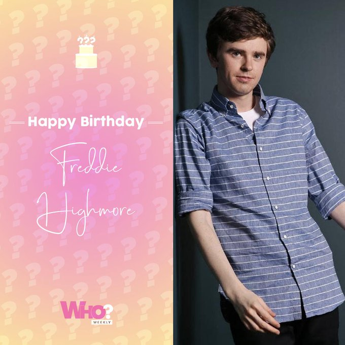 Happy birthday, Freddie Highmore!