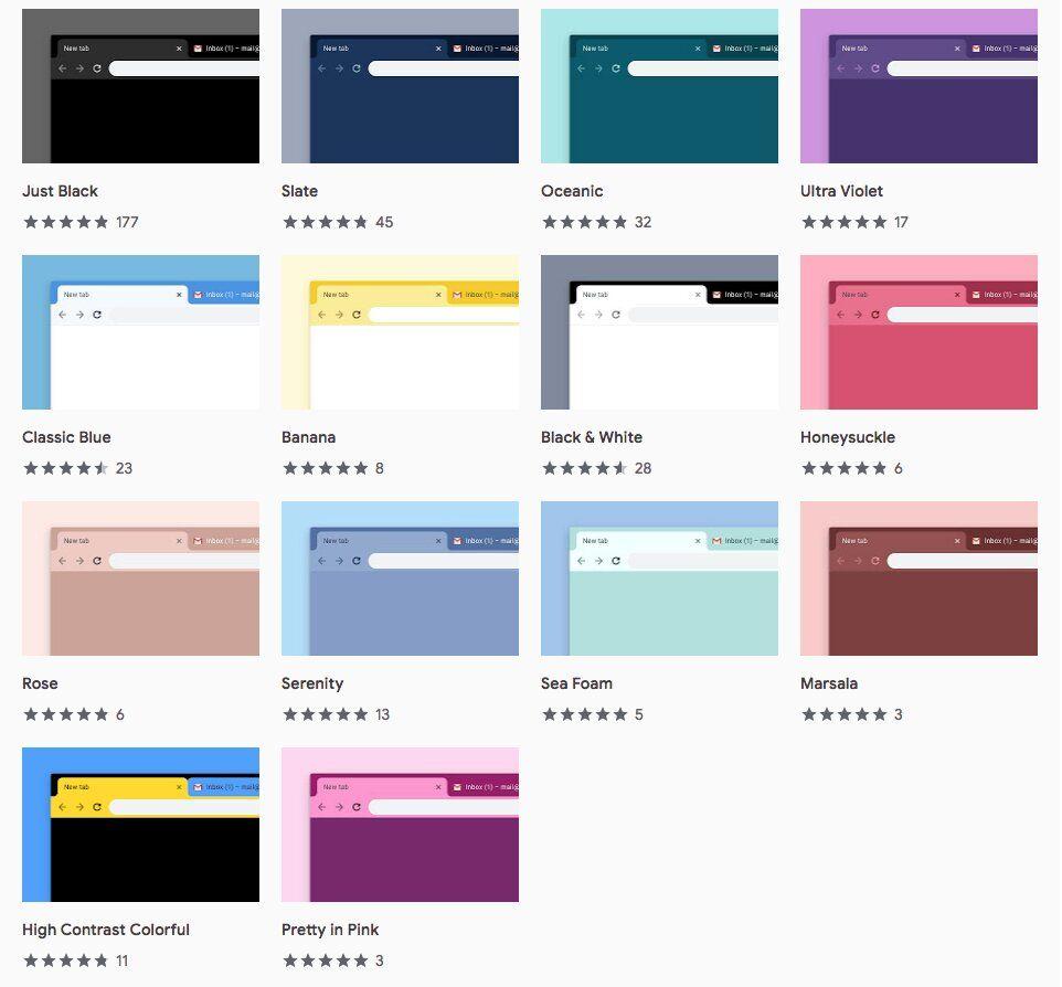 RT @ChanPerco: Google #Chrome dévoile 14 nouveaux thèmes officiels via @Siecledigital https://t.co/wsDePznvVe https://t.co/6E9KfAQWji