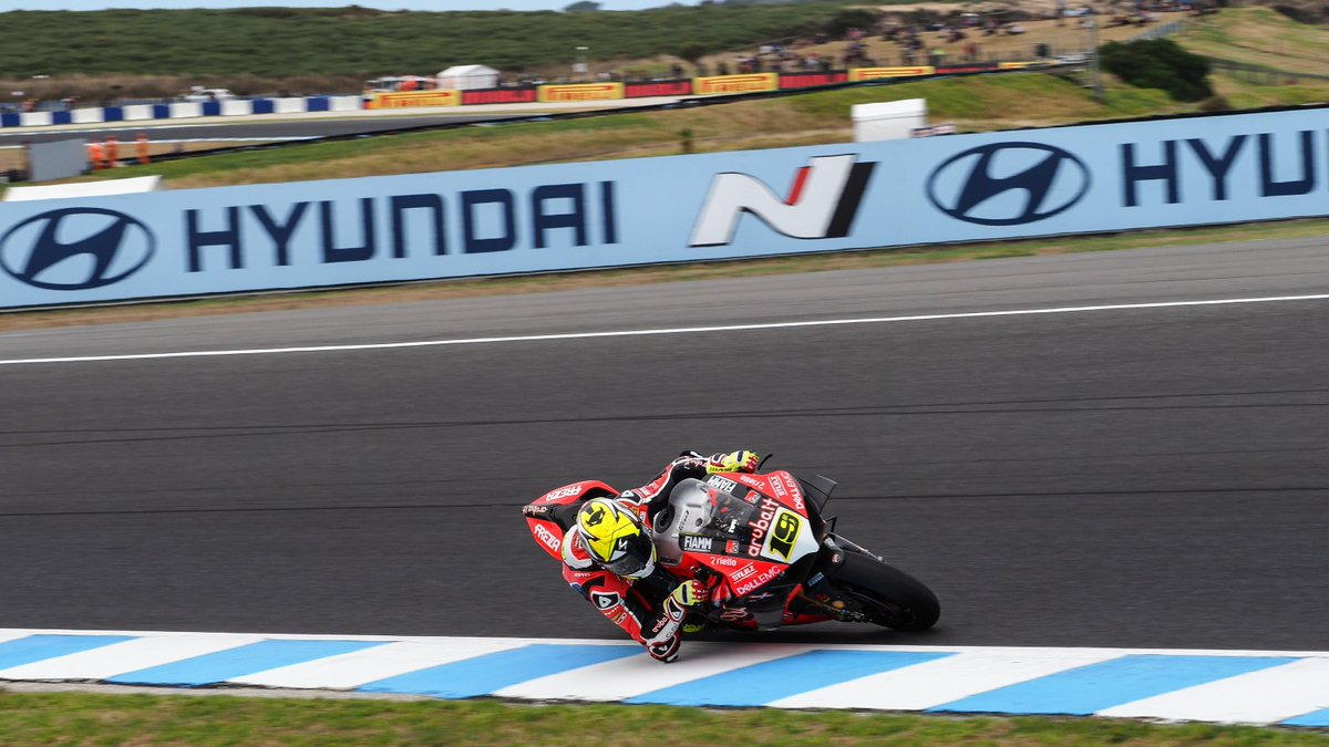 test Twitter Media - 💥 @19Bautista bags top spot as first day on 'The Island' concludes!  #AUSWorldSBK 🇦🇺  📃 REPORT | #WorldSBK https://t.co/zV4OD6ITLY https://t.co/G3Ohgo6qca