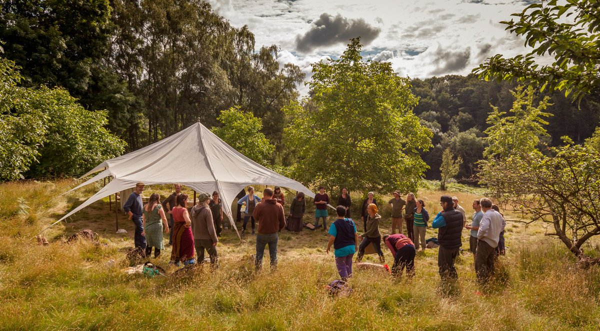 Image for 'Everything You Wanted to Know About Permaculture But Never Dared to Ask' - A talk by Chris Evans. Hall Barn on Sunday 24th March at 11am. £10 including morning coffee and veggie lunch! 🌾 Bookings: email hello@bleddfacentre.org #permaculture #environment #garden #Powys #MidWales https://t.co/h86GTntiPI