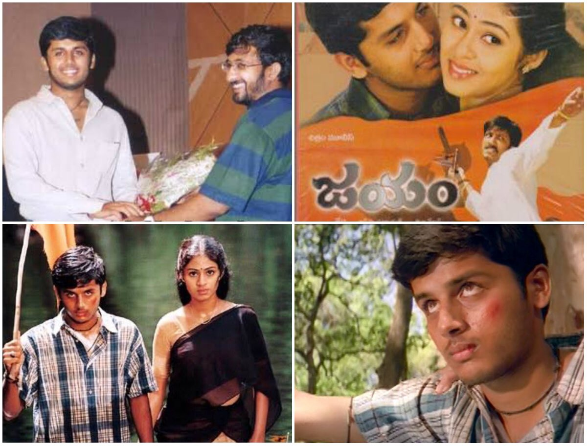 test Twitter Media - JAYAM's muhurtham was held on Feb 22nd 2002 at 2.22pm..most memorable day of my life...I'm so grateful to my director Teja sir fr giving me such an amazing movie n unforgettable experiences🙏n thank u all for ur love n support🙏😘 #17YearsOfMyFilmJourney #HBDDirectorTeja https://t.co/8Nz4a2iUid