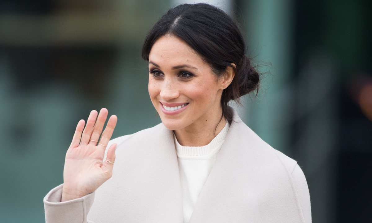Marks and Spencer's new wrap coat looks exactly like Duchess Meghan's: