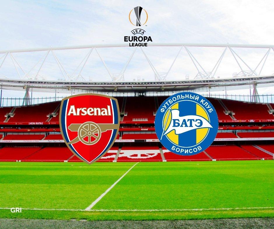 RT @Gooners_Report: #MatchDay Europa League :  Arsenal vs. BATE Borisov Dini hari nanti Pukul 00:55 WIB Live RCTI https://t.co/Vwnei4hFGR