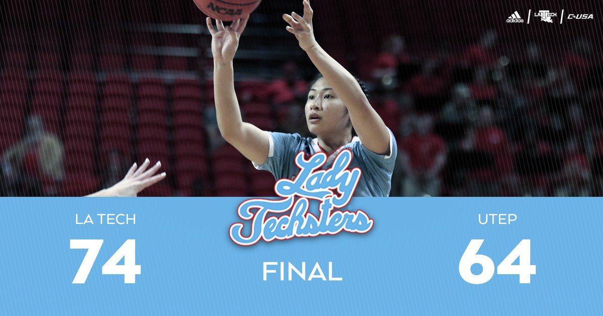 RT @LATechSports: Road win for the Lady Techsters!  @LATechWBB | #EverLoyalBe https://t.co/0miJHxQAtw